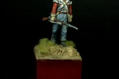 British Infantryman Penninsular war 40mm (Perry miniatures)