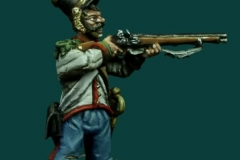 Mexican infantryman 40mm (Gringo 40s)