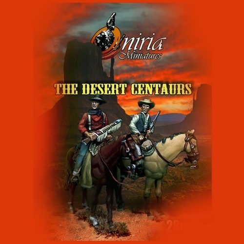 The desert centaurs - 28mm miniature - Oniria Miniatures
