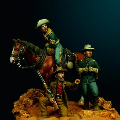 28mm miniatures - Old west - Oniria Miniatures