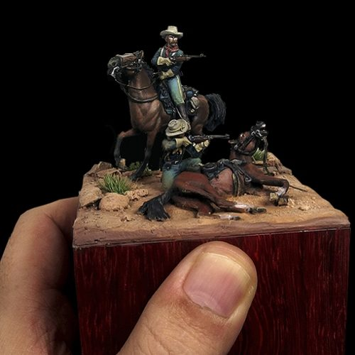 Apache pass - 28mm miniatures - Oniria Miniatures