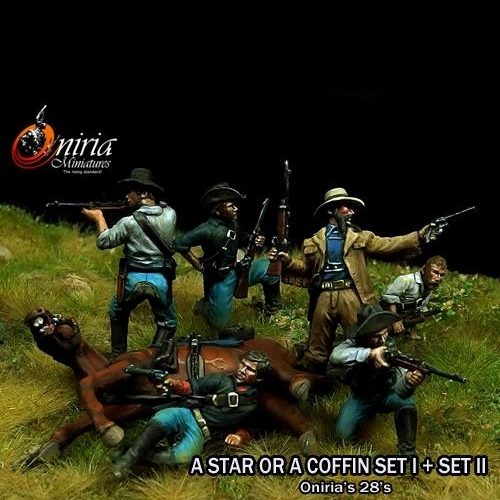 A star or a Coffin II - 28mm miniature - Oniria Miniatures