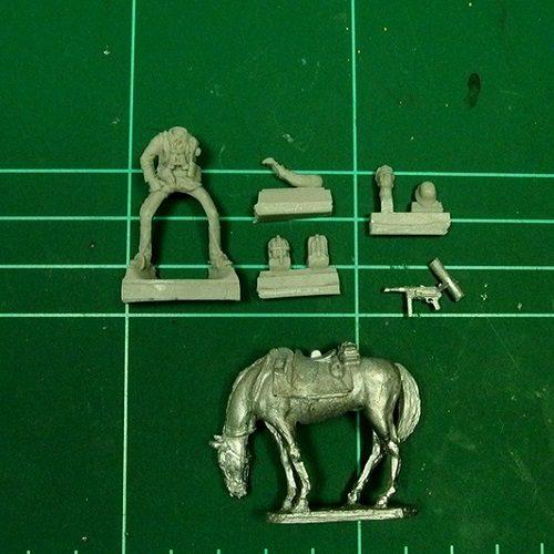WWII German Calvary NCO - 28mm miniatures - Oniria Miniatures