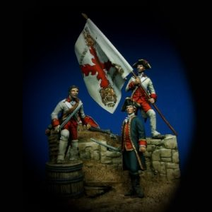 Gálvez at Pensacola - 28mm miniature - Oniria Miniatures