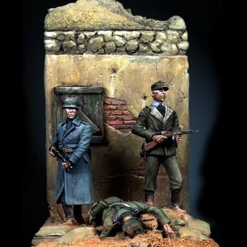 Where the Iron Crosses grow - 28mm miniatures - Oniria Miniatures