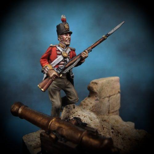 The Assault - 28mm miniature - Oniria Miniatures