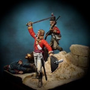 The Assault - 28mm miniature - Oniria Miniatures