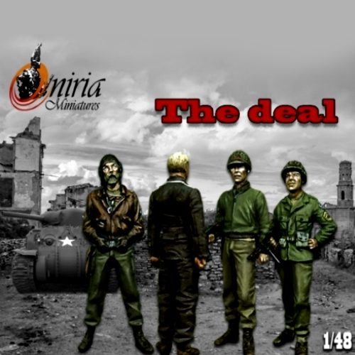 The Deal - 28mm miniatures - Oniria Miniatures