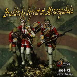 Braddock's Defeat at Monongahela I - 28mm miniature - Oniria Miniatures