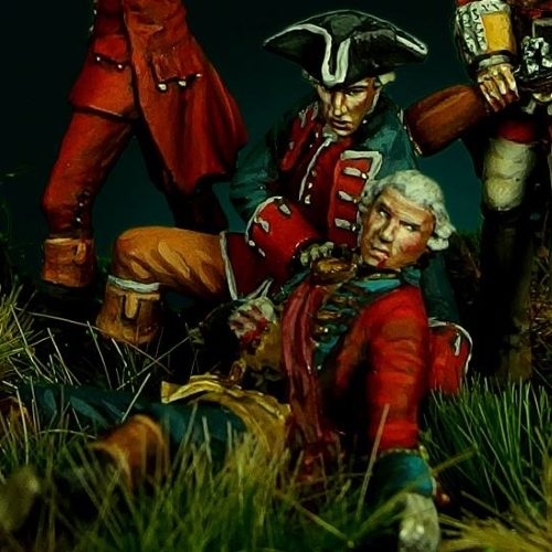 Braddock's Defeat at Monongahela II - 28mm miniature - Oniria  Miniatures
