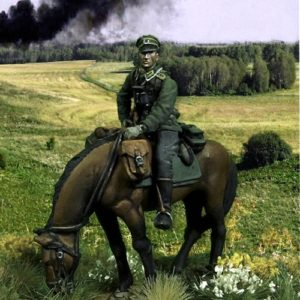 WWII German Calvary NCO - 28mm miniatures - Oniria Miniatures